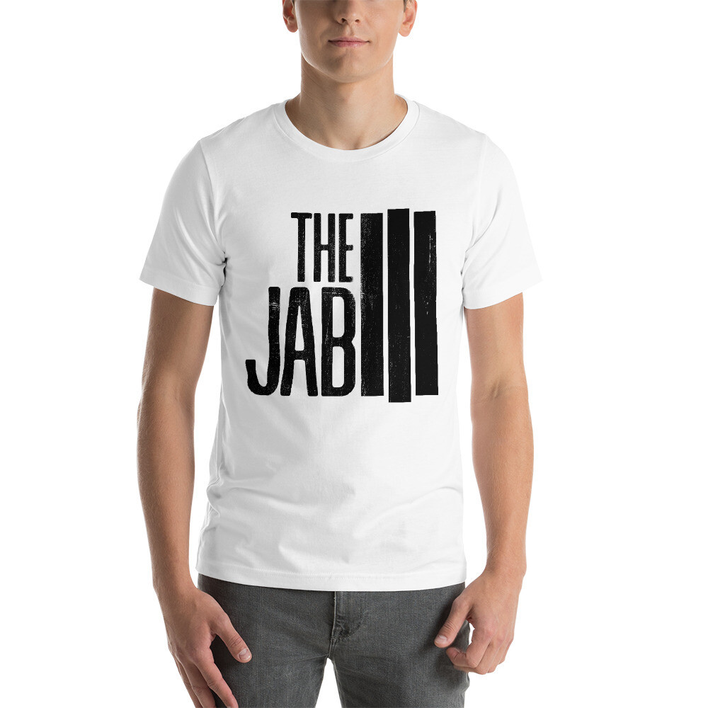 The JAB Black Logo. Men's Short Sleeve T-Shirt. 4 Colors.