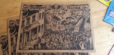 Limited edition Chartist Riot Print by Marie Lowe / Miss Rie - signed and numbered