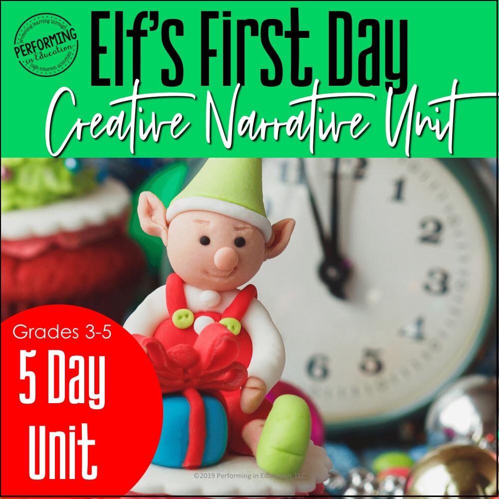 December Writing Activities | Christmas Creative Narrative Unit