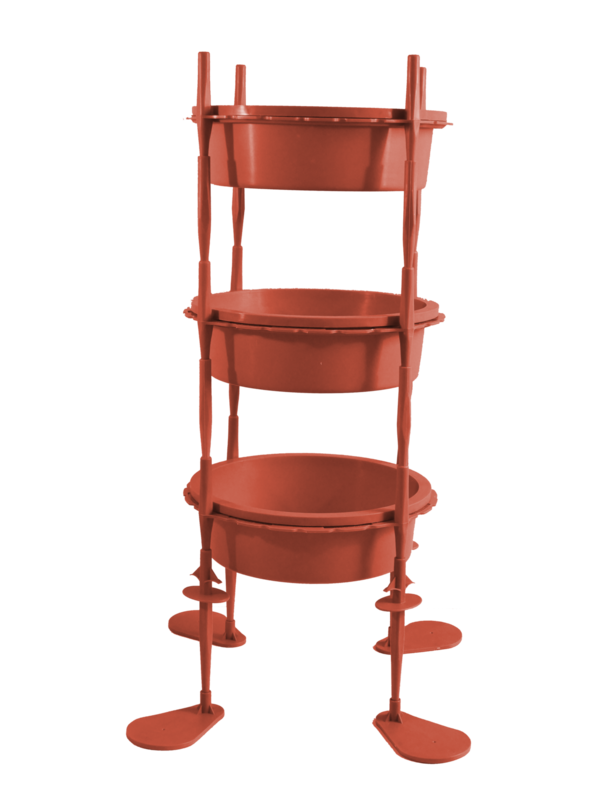 3-tier Planter Bowl System