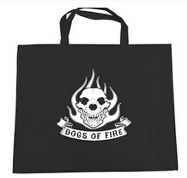 Dogs of Fire Tote Bag