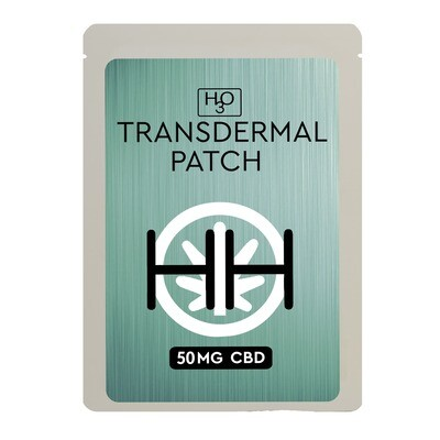 H3O 50mg Transdermal Patches