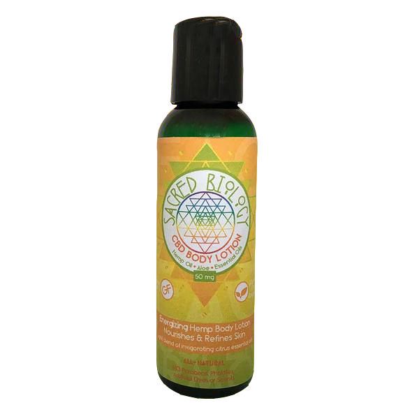 Sacred Biology Energize Lotion