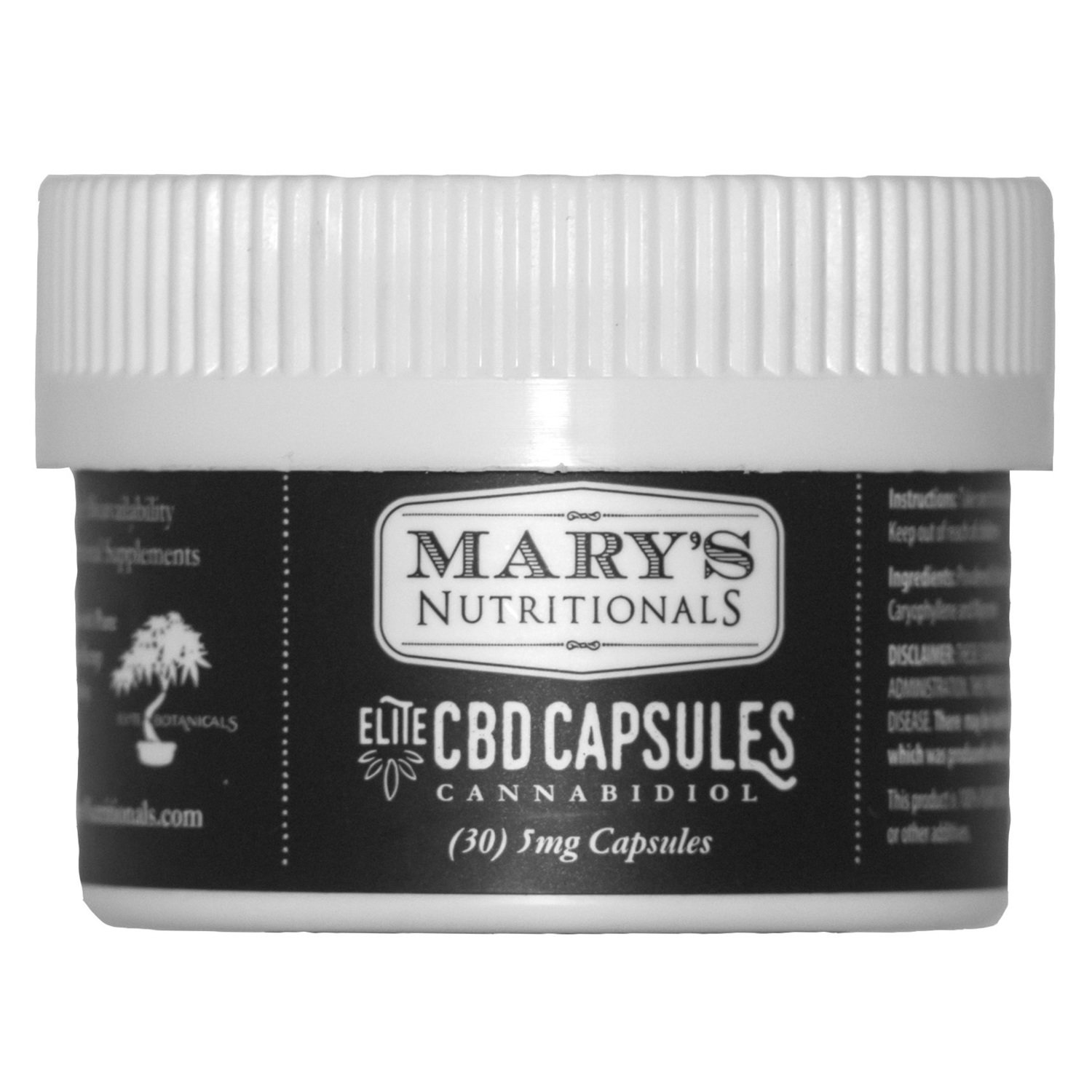 Mary's Elite CBD Capsules