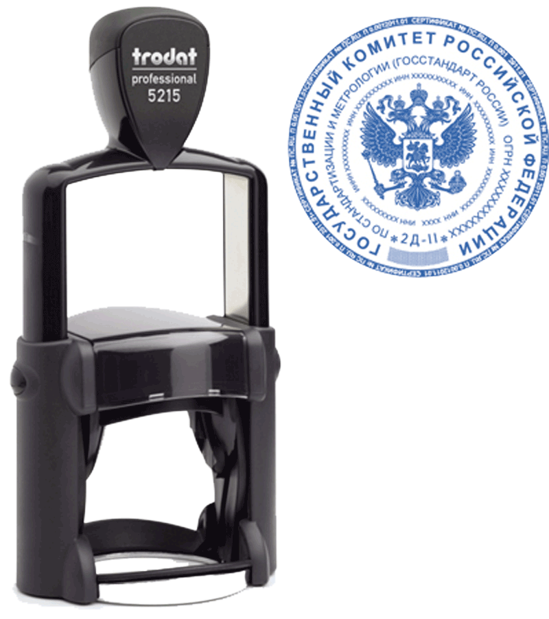 Печать Trodat Professional 5215 45 мм