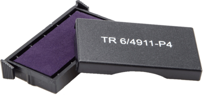 Сменная штемпельная подушка для штампа Trodat 4911_P4 38х14 мм