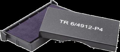 Сменная штемпельная подушка для штампа Trodat 4912_P4 47х18 мм