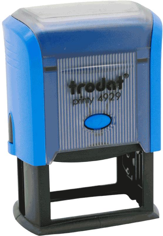 Штамп автоматический Trodat 4929 50х30 мм