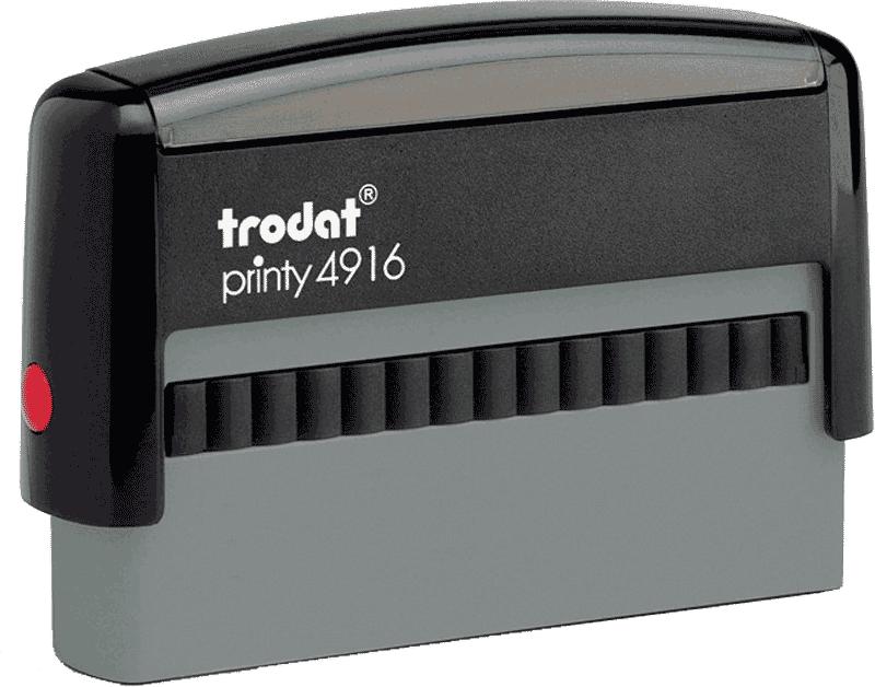 Штамп автоматический Trodat printy 4916 70x10 мм