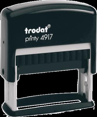 Штамп автоматический Trodat printy 4917 50x10 мм