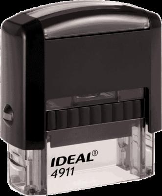 Штамп автоматический Ideal 4911 38х14 мм