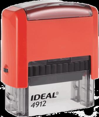 Штамп автоматический Ideal 4912 47х18 мм