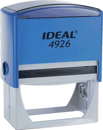 Штамп автоматический Ideal 4926 75х38 мм