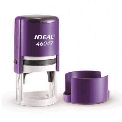 Печать на автоматической оснастке Ideal  46042, 42 мм фиолетовый