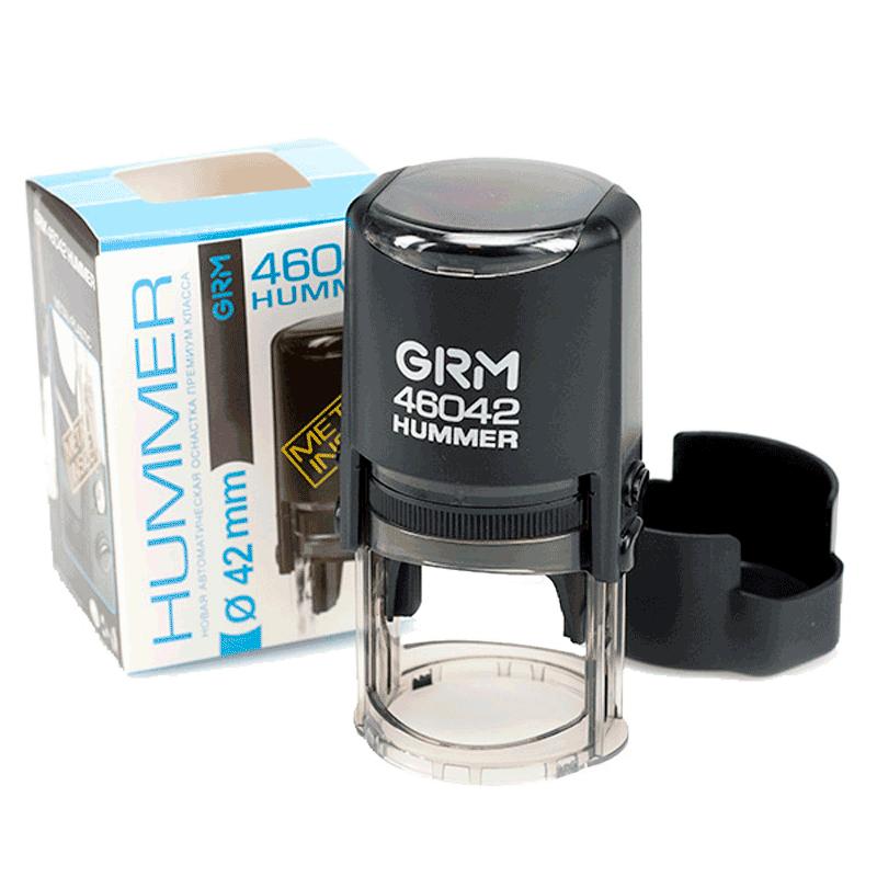 Печать GRМ 46042 Hummer ABS, 42 мм, черный