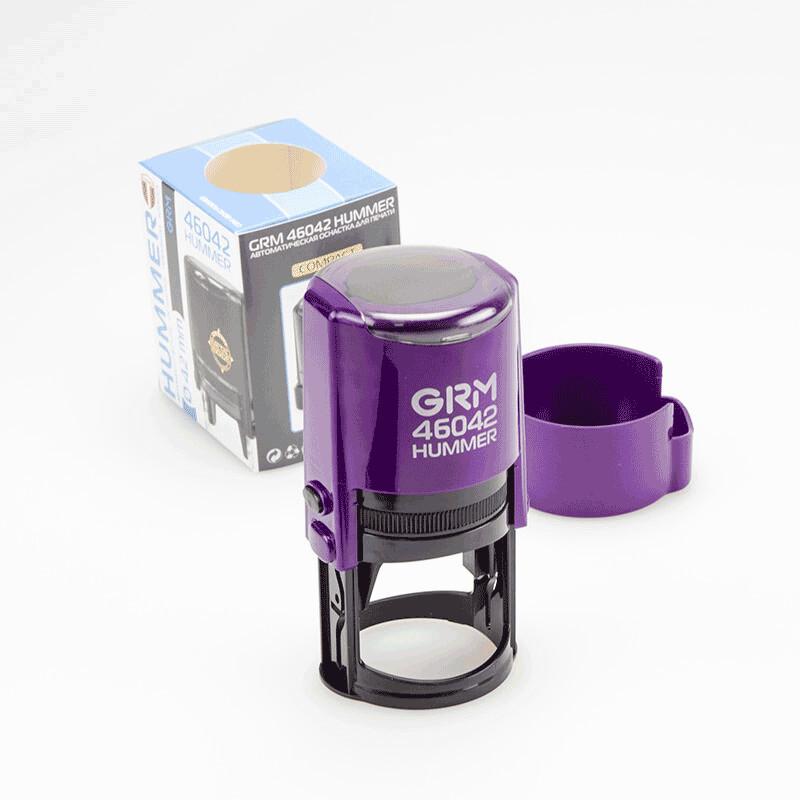 Печать GRМ 46042 Hummer ABS, 42 мм, фиолетовый