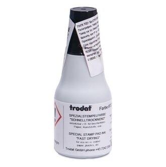 Краска универсальная быстросохнущая спиртовая Trodat 7021 25 мл (30 грамм)
