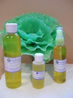 Hair & Body Oil (lightly scented)- 8oz