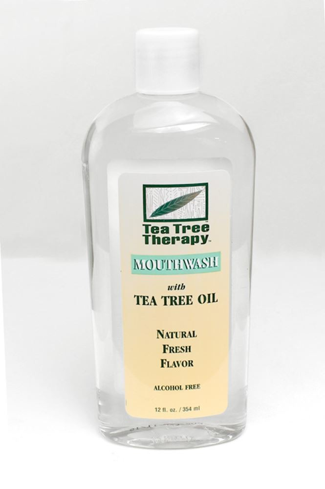 Natural Tea Tree Mouthwash