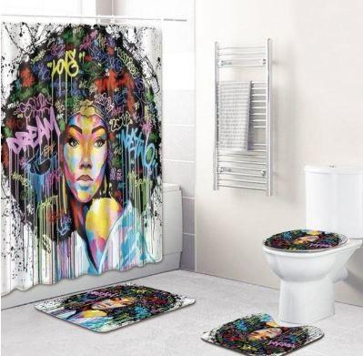 4-piece Bathroom Set (Soul Sistah)