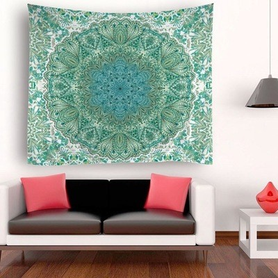 Big Circle Pattern Tapestry
