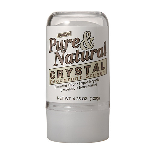 African Pure & Natural Crystal Deodorant Stone