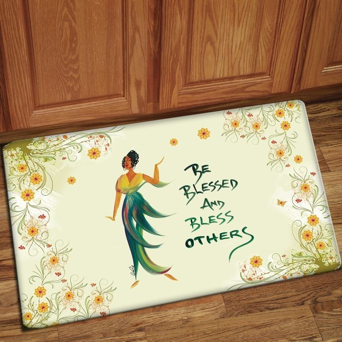 Interior Floor Mat (Be Blessed and Bless Others)
