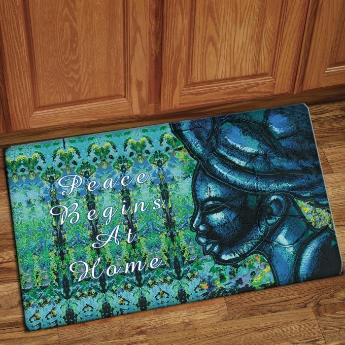Interior Floor Mat (Peace Begins at Home)