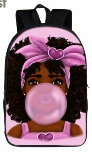 "16"" Girls BackPack (Design 8)"