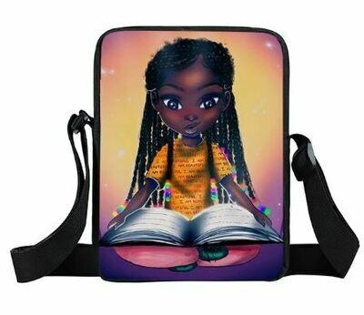 Girls Mini Messenger Bag (Design #28)
