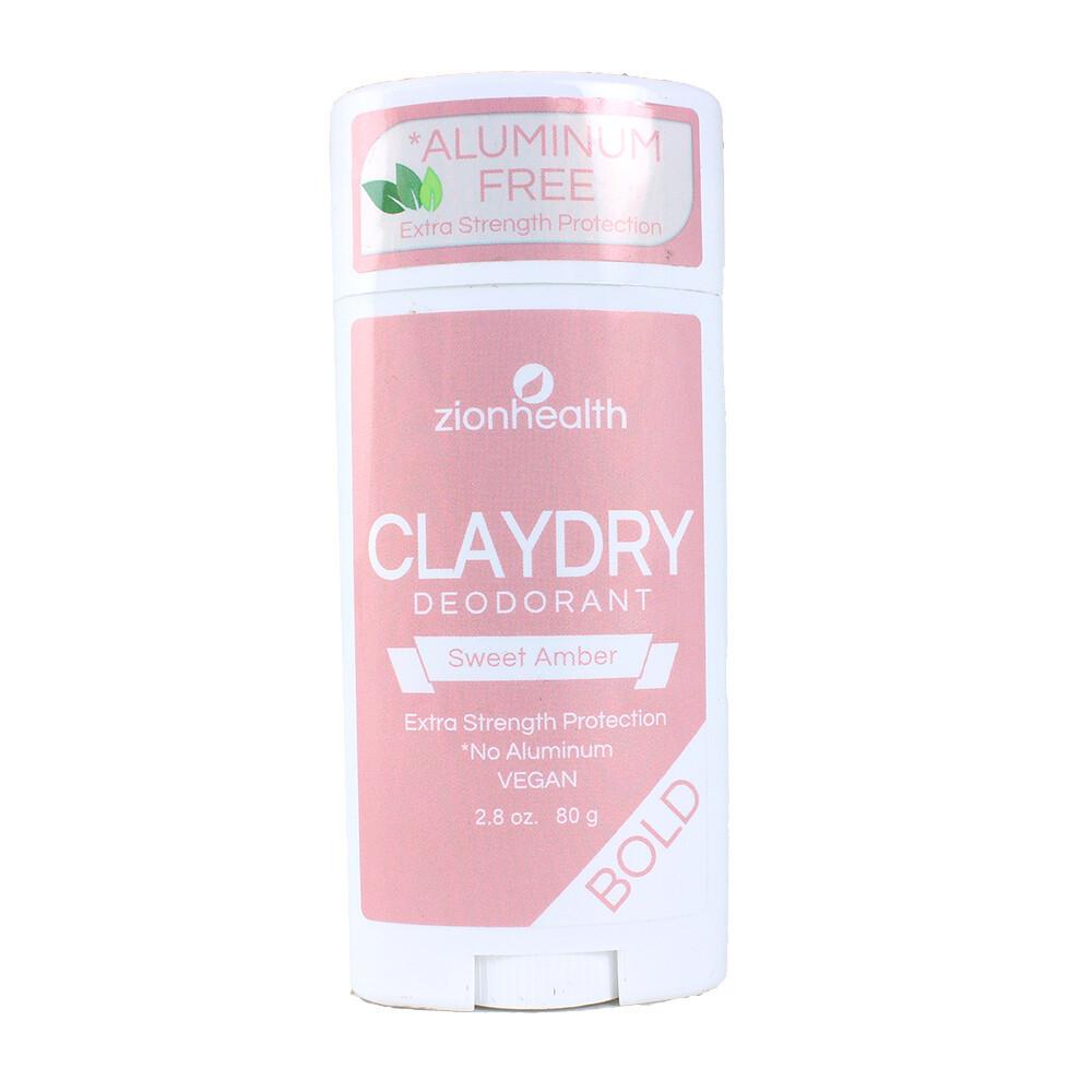 ClayDry Bold Deodorant (Sweet Amber)