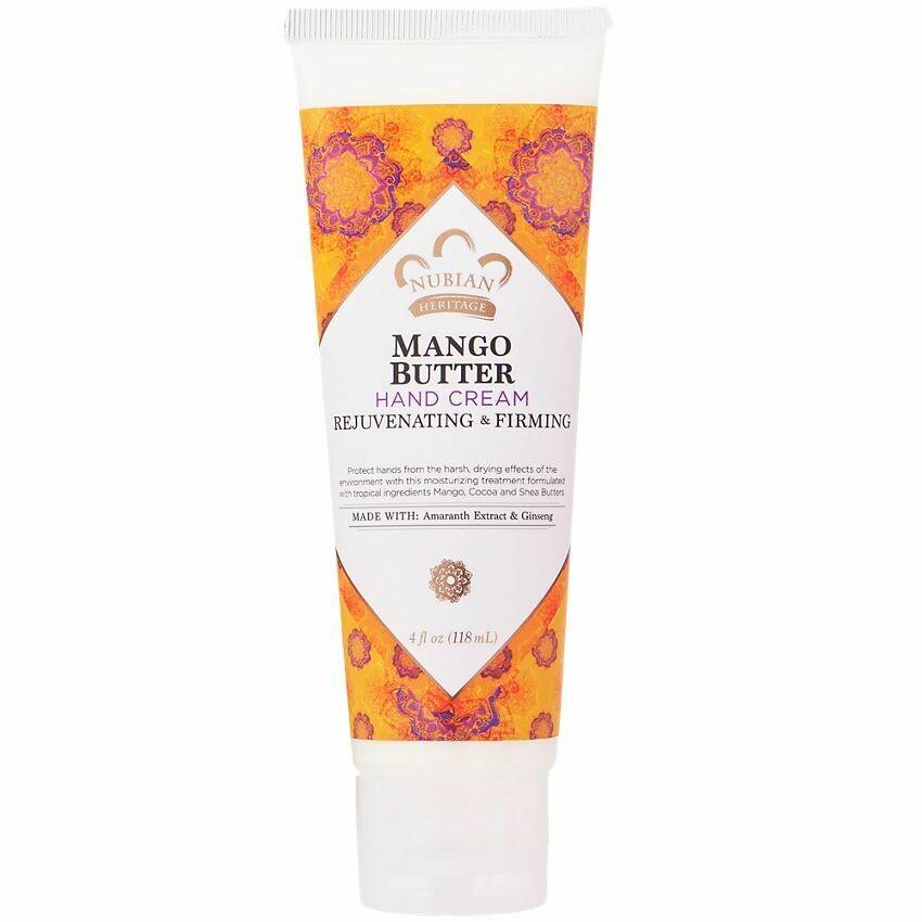 Nubian Heritage Hand Cream (Mango Butter)