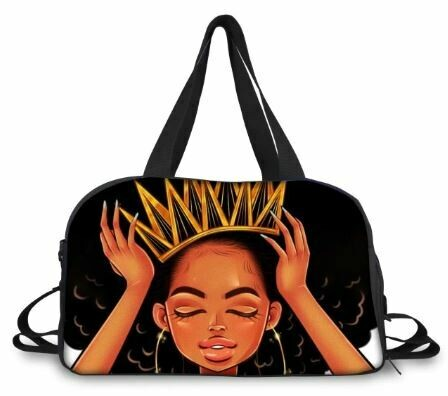 BlackArt Duffel Bag (Design #1)