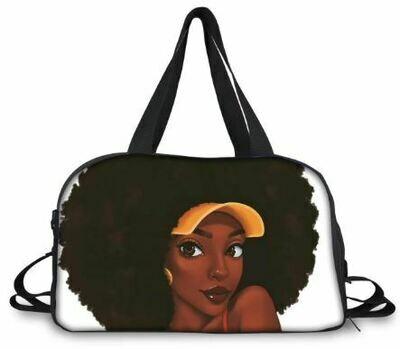 BlackArt Duffel Bag (Design #11)