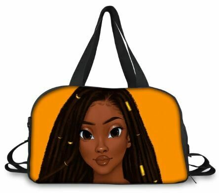 BlackArt Duffel Bag (Design #24)