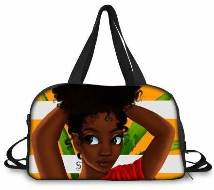 BlackArt Duffel Bag (Design #6)