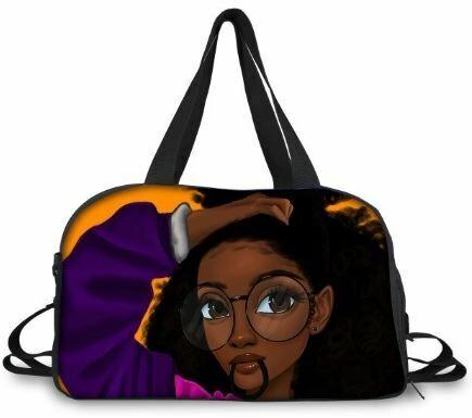 BlackArt Duffel Bag (Design #9)
