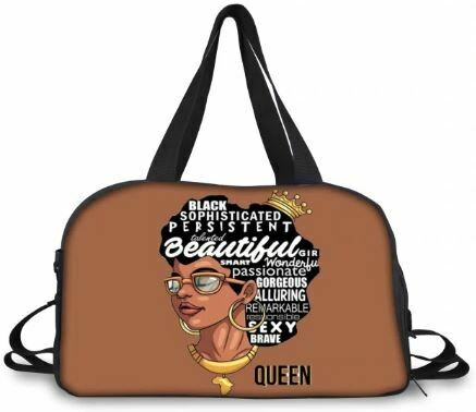 BlackArt Duffel Bag (Design #15)