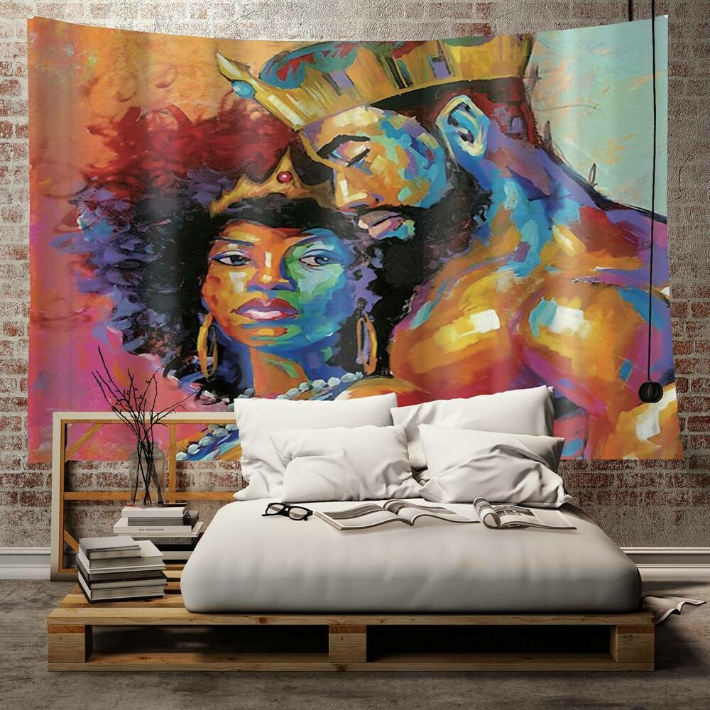 Afrocentric Wall Tapestry (Design #2)