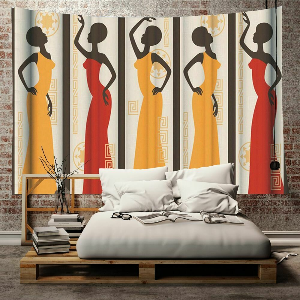 Afrocentric Wall Tapestry (Design #30)