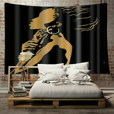Afrocentric Wall Tapestry (Design #1)