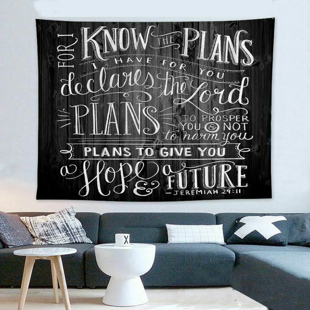 Scripture Wall Tapestry (Design #4)