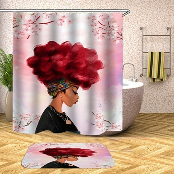 Shower Set (Red Delicious in Pink)