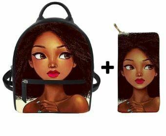 Fashion BlackPack & Wallet  (Design 52)