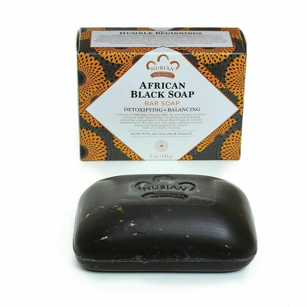 Nubian Heritage Soap (African Black Soap)
