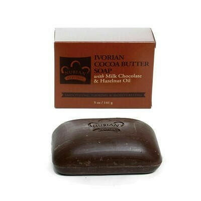Nubian Heritage Soap (Cocoa Butter w/Milk Chocolate & Hazelnut Oil)