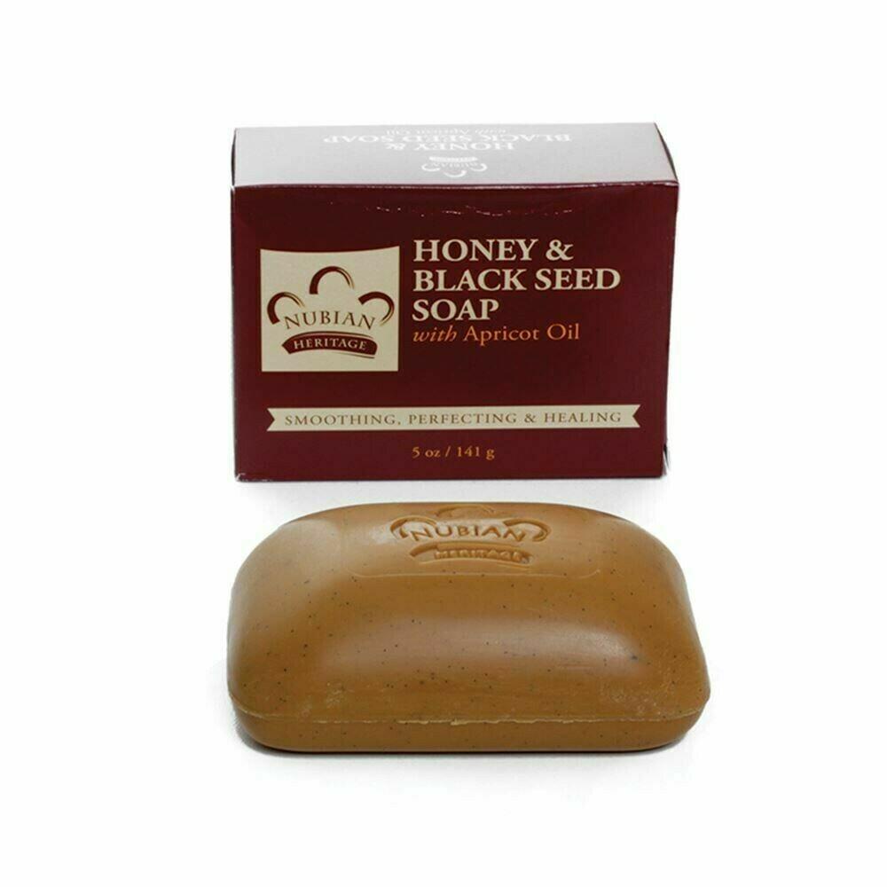 Nubian Heritage Soap (Honey & Black Seed w/Apricot Oil)