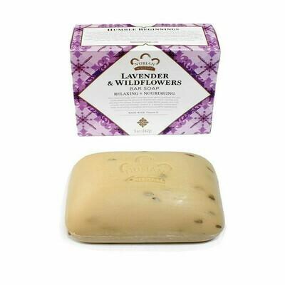 Nubian Heritage Soap (Lavender & Wildflowers)