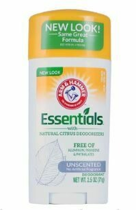 Fresh Essentials Natural Deodorant