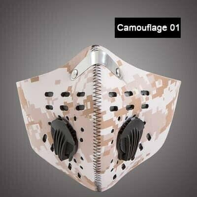 Dual Valve Sport Mask
